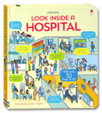 Usborne Look inside A Hospital With over 50 flaps to lift
