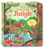 Usborne Look inside the Jungle With over 80 flaps to lift