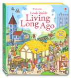 Usborne Look inside Living Long Ago With over 80 flaps to lift