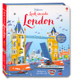 Usborne Look Inside London With Over 90 Flaps to lift