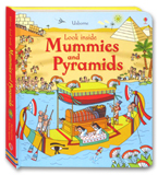 Usborne Look inside Mummies and Pyramids With over 70 flaps to lift