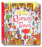 Usborne Look inside Roman Town With over 70 flaps to lift