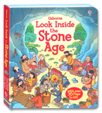 Usborne Look inside The Stone Age With over 70 flaps to lift