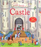 Usborne Look inside a Castle (with over 60 flaps to lift)