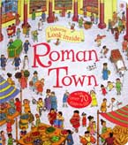 Usborne Look inside Roman Town (with over 70 flaps to lift)