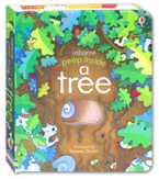 Usborne Peep Inside A Tree Board Book