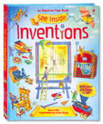 An Usborne Flap Book See Inside Inventions (With over 60 flaps to lift)