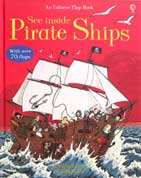 An Usborne Flap Book See inside Pirate Ships (With over 70 flaps)
