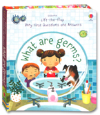 Usborne Lift-the-flap Very First Questions and Answers - What Are Germs? Board Book