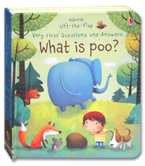 Usborne Lift-the-flap Very First Questions and Answers - What is Poo? Board Book