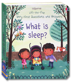 Usborne Lift-the-flap Very First Questions and Answers - What is Sleep? Board Book