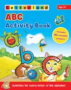 Letterland ABC Activity Book (Includes 40 Reusable Stickers)