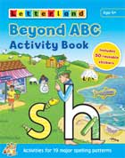 Letterland BEYOND ABC Activity Book (Includes 50 Reusable Stickers)