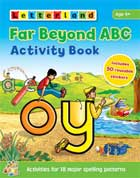 Letterland FAR BEYOND ABC Activity Book (Includes 50 Reusable Stickers)