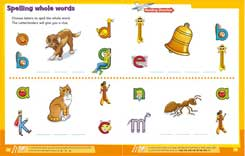 Letterland My Second Alphabet Activity Book - Learn to Spell Whole Words