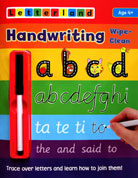 Letterland Wipe-Clean Handwriting - Trace over letters and learn how to join them