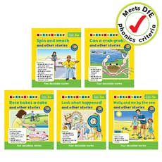 Letterland Phonics Readers Set 3 (5 books)