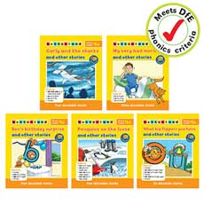 Letterland Phonics Readers Set 4 (5 books)