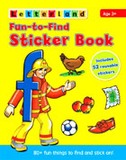 Letterland Fun-to-Find Sticker Book (Includes 52 Reusable Stickers)