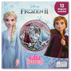 Disney Frozen II Bubble Magnets Board Book Over 13 Magnets