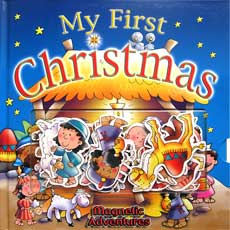 My First Christmas Magnetic Adventures Board Book