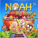 Noah and His Big Boat Magnetic Adventures Board Book