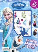 Disney Frozen Bubble Magnet Book with Over 40 Bubble Magnets