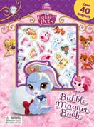 Disney Palace Pets Bubble Magnet Book with Over 40 Bubble Magnets