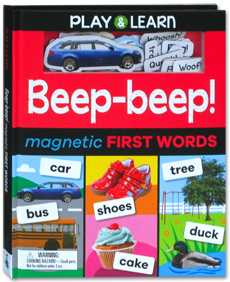 Play & Learn - Beep Beep! Magnetic First Words