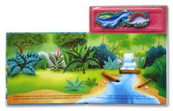 Dinosaur Island A Magnetic Play Book
