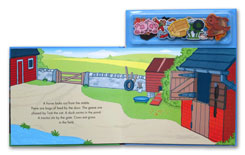 On the Farm Magnetic Story and Play Scene Book