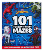 Marvel Spider-Man 101 Totally Twisty Mazes (Contains Hours of A-Maze-Ing Fun!)