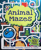Animal Mazes with over 300 pawsome stickers & press-outs