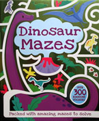 Dinosaur Mazes with over 300 roarsome stickers & press-outs