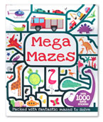 Mega Mazes with over 1000 super stickers & press-outs
