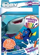 INKredibles Carry Along Pad with Travel Markers Finding Dory (6 markers included)