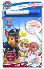 INKredibles Mess Free Invisible Ink PAW Patrol (Invisible Image appear Like Magic!)