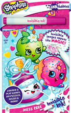 INKredibles Mess Free Invisible Ink Shopkins (Invisible Image appear Like Magic!)
