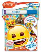 INKredibles Mess Free Magic Ink Pictures Emoji (Reveal a rainbow of colours!)