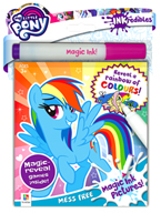 INKredibles Mess Free Magic Ink Pictures My Little Pony (Reveal a rainbow of colours!)