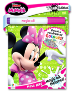 INKredibles Mess Free Magic Ink Pictures Disney Junior Minnie (Reveal a rainbow of colours!)
