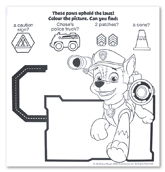 INKredibles Mess Free Magic Ink Pictures Nickelodeon Paw Patrol (Reveal a rainbow of colours!)