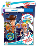 INKredibles Mess Free Magic Ink Pictures Disney PIXAR Toy Story 4 (Reveal a rainbow of colours!)