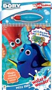 INKredibles Mess Free Water Wonder Finding Dory (includes water pen) - Let it dry and Colour it Again!