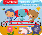 Fisher Price Colouring and Activity Placemats