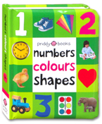 Numbers Colours Shapes Board Book