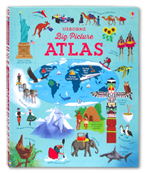 Usborne Big Picture Atlas Book