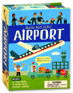 Busy Builders Airport - Build A 3-Foot Airport Play Set
