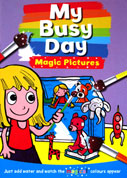 My Busy Day Magic Painting Book - Just Add Water and Watch the Magical Colours Appear **(BONUS FREE Paintbrush)**