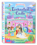 Pop-Up Carousel Enchanted Castle With 25 Play Pieces